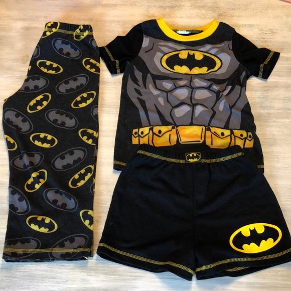 Batman Other - 🐛Boys 4T Batman Superhero Pajamas 3 Piece set 🦇 94bf2b04a